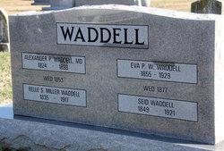 Eva P. <i>Waterfield</i> Waddell