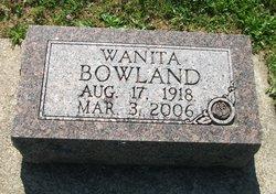 Wauneda M. <i>Cleland</i> Bowland