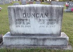 Helen L <i>Houp</i> Duncan