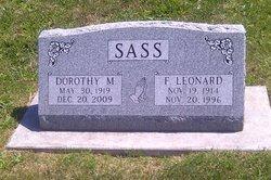 Dorothy M <i>Myer</i> Sass
