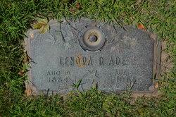 Lenora <i>Delaney</i> Ade
