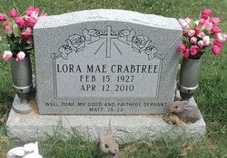 Lora Mae <i>Wallace</i> Crabtree