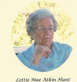 Lottie May <i>Atkin</i> Hunt