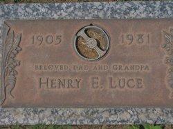 Henry Ernest Luce