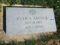 Ruth Anna <i>Wigand</i> Adcock