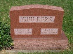 Pauline <i>Larrison</i> Childers