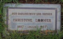 Christine <i>Peters</i> Loomer