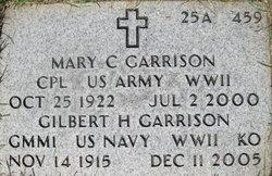 Mary C Garrison