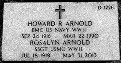 Rosalyn <i>Stone</i> Arnold