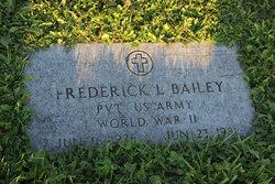 Frederick L Bailey