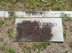 Mattie Alma Starnes