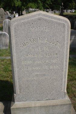 Susan M. <i>Angell</i> Allen