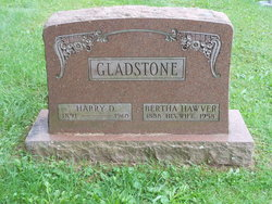 Bertha <i>Hawver</i> Gladstone