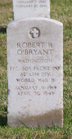 Robert R O'Bryant