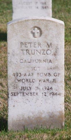 Peter M Trunzo
