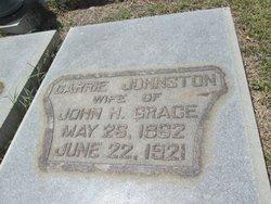 Carrie <i>Johnson</i> Grace