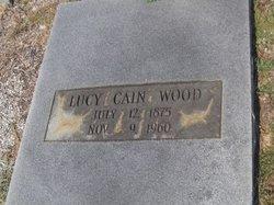 Lucy <i>Cain</i> Wood