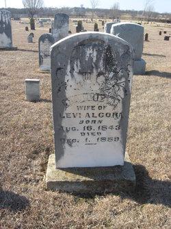Sarah Margaret Sallie <i>Pace</i> Alcorn