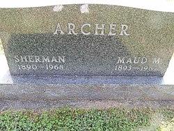 Maude May <i>Ayres</i> Archer