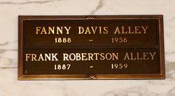 Fanny <i>Davis</i> Alley