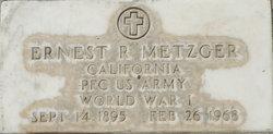 Ernest Raymond Metzger