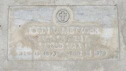 John Vivian Metzger