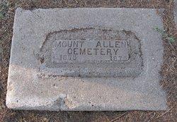 Mount Allen Cemetery