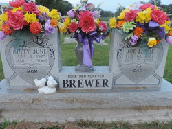 Betty June <i>Bowd</i> Brewer