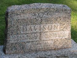 Sarah Sophia <i>Wells</i> Davison