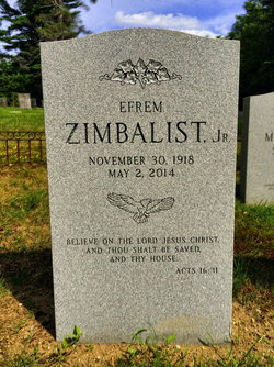 Efrem Zimbalist, Jr