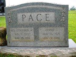 Rev Benjamin Warren Pace