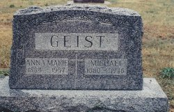 Anna Marie Emma <i>Younger</i> Geist
