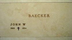 John W Baecker