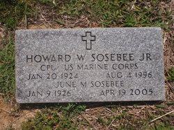 Cpl Howard Wilson Sosebee, Jr