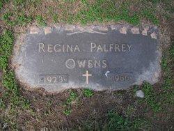 Regina <i>Palfrey</i> Owens