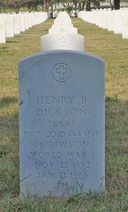 Henry B Dickson