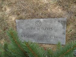 Ruth M <i>Butterfield</i> Davis
