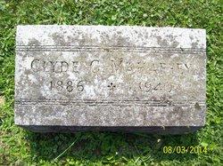Clyde Core Mahaffey