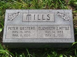 Elizabeth Jane <i>Kittle</i> Mills