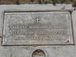 Valetta Margaret Akins