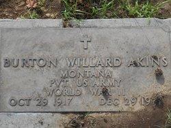 Burton Willard Akins