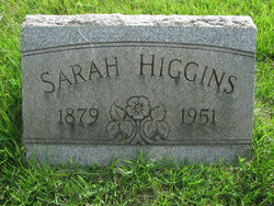 Sarah Elizabeth <i>Steward</i> Higgins