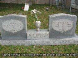 Nancy Ellen Nannie <i>Whitaker</i> Smotherman