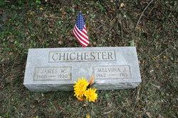 Melvina Jane <i>Varner</i> Chichester