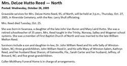 DeLoe <i>Hutto</i> Reed