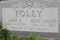 Lieut Jack Edward Foley