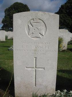 Sgt E E Hassett