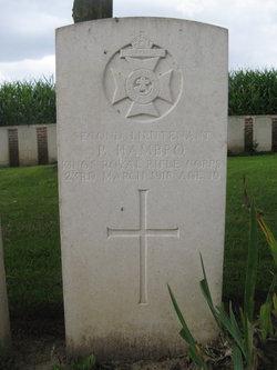 2nd Lt Percival Hambro