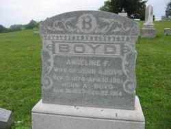 Angeline F. <i>Douglass</i> Boyd