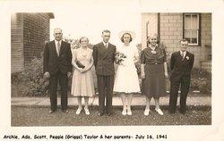 Margaret Matilda May Peggy <i>Griggs</i> Taylor